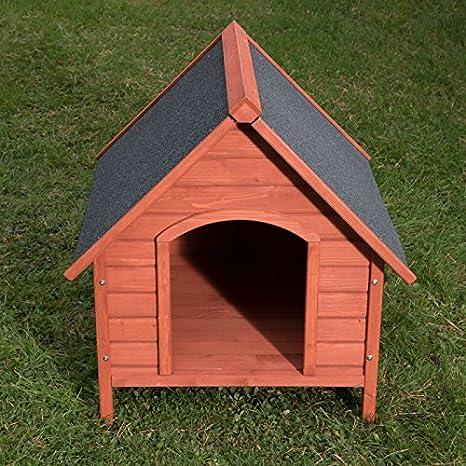 Caseta de perro de madera para exteriores XL: Amazon.es: Productos para mascotas