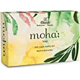 Moha: Neem Basil and Aloe Soap, 100g (Pack of 3)
