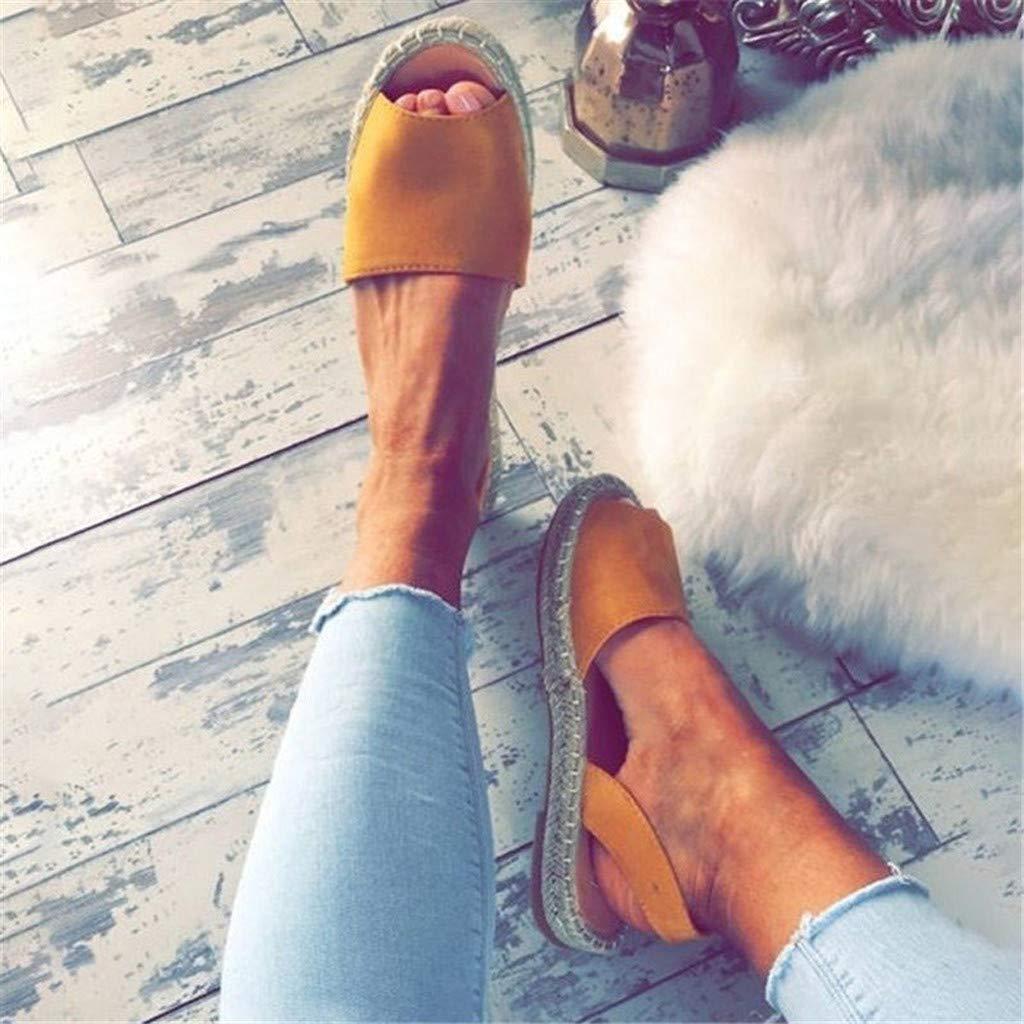 Sandals Summer Retro Women/'s Flat Ankle Strap Roman Slippers Sandals Ladies Beach Shoes Pandaie Womens ..