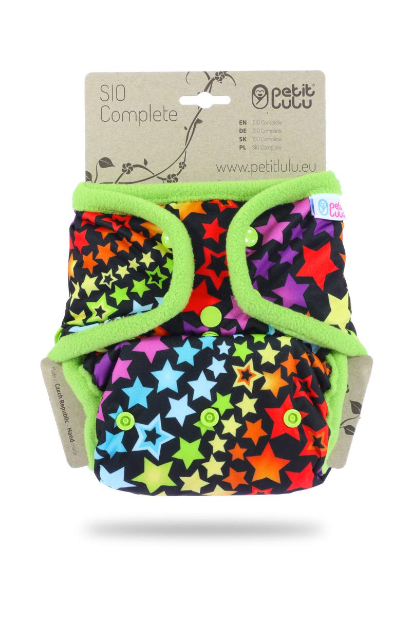 on White Made in Europe Petit Lulu SIO Complete Reusable /& Washable Snaps Mexican Skulls