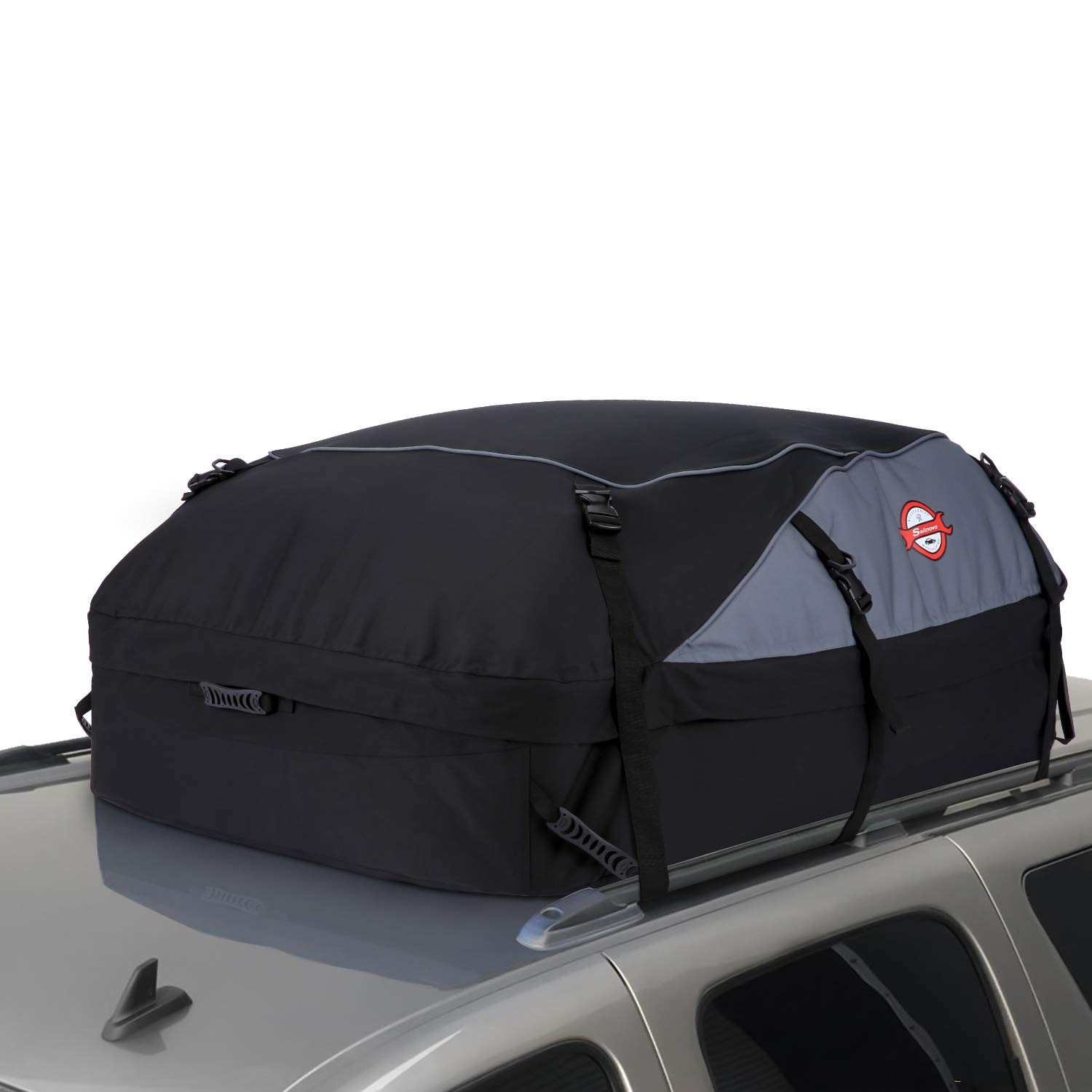 20 Cubic Feet Thickened Car Cargo Roof Bag- Waterproof Universal Soft Rooftop Bag Luggage Carriers for Car with/Without Racks by Xuliyme