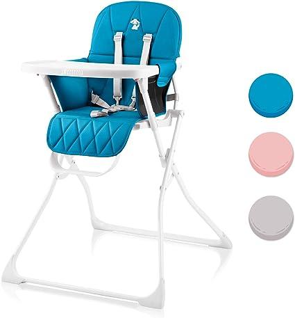 Trona para bebe, Compacta, Ajustable y Plegable - Trona Portatil ...