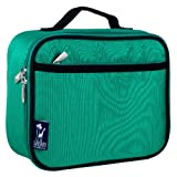 Lunch Box, Wildkin Lunch Box, Insulated, Moisture Resistant, and Easy to Clean with Helpful Extras for Quick and Simple Organization, Ages 3+, Perfect for Kids or On-The-Go Parents – Emerald Green