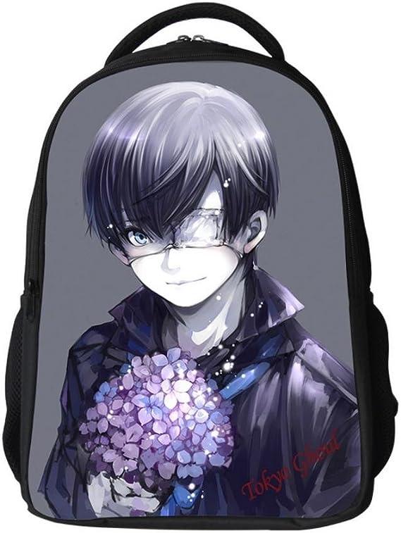 Nuevo Anime Tokio Ghoul Kaneki Ken cena Cool bolsa de la escuela ...