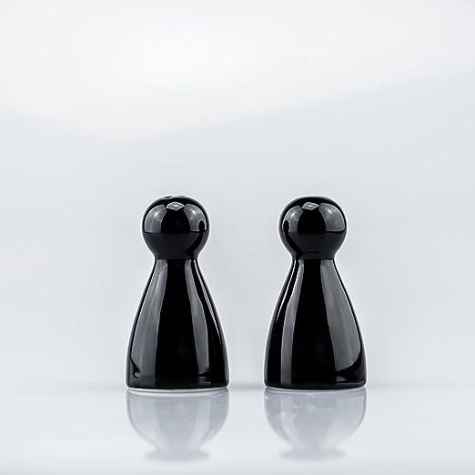 De colour negro y PEPPY Sompex 6090 & Sally 8 cm salero pimentero ...