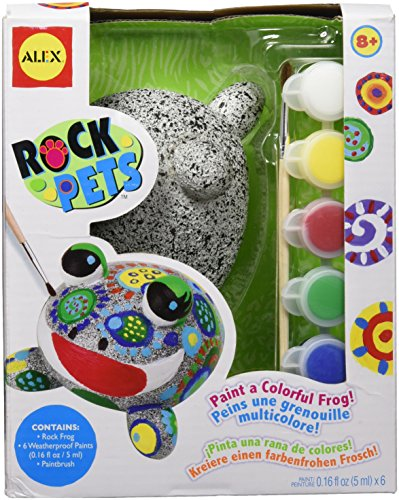 Kids Rock Painting Kit makes fun camping activities kids love and adults will too to keep from being bored with fun camping ideas for kids