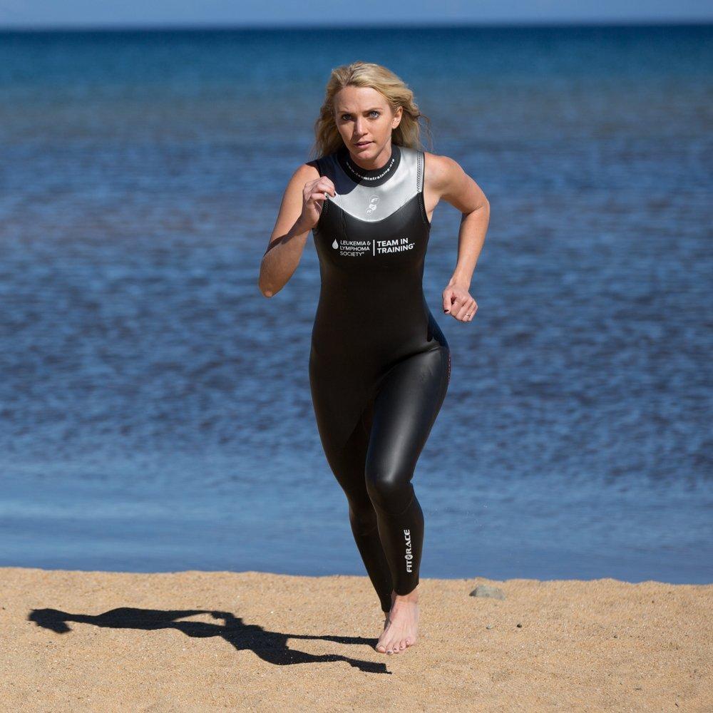 Team in Training//F2R Sockeye Unisex Fit2Race Sleeveless Triathlon Wetsuit