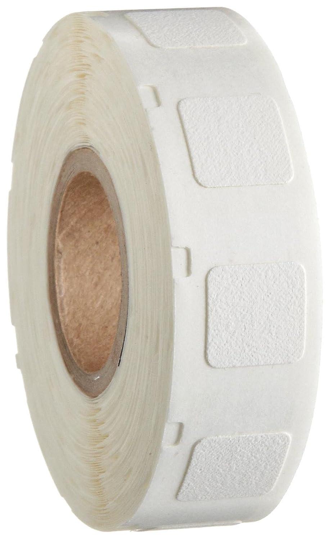 Brady WML-305-502 I.D PRO Plus LS2000 And BradyMarker 0.5 Height 500 Per Roll B-502 Repositionable Vinyl Cloth White Color XC Plus Printer Labels 0.5 Width 0.5 Width