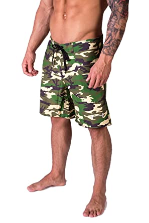 dd9edbec4d Barbell Apparel Men's Phase Board Shorts & Knit Cap Bundle at Amazon ...