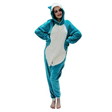 Mikucos Pokemon Go Snorlax Kigurumi Costume Cosplay Pajamas Sleepwear  Sleepsuit Cartoon  Amazon.co.uk  Clothing 5728d7fb2