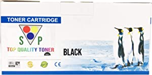 Super-Supply Compatible Toner Cartridge Replacement for HP 124A ( Black , 1-pack )