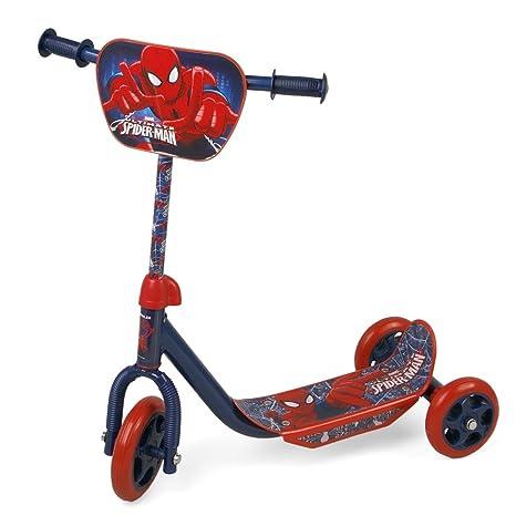 Marvel - Patinete 3 ruedas infantil Spiderman para niños ...