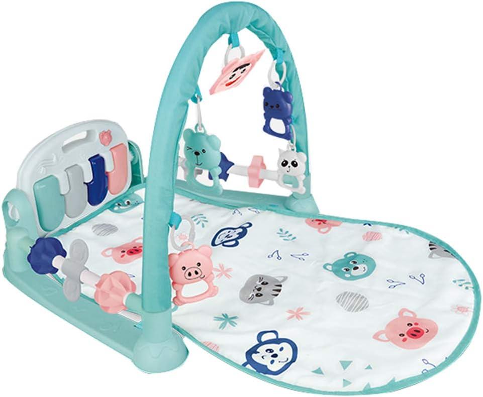 Gimnasio para Bebes, Baby Fitness Frame Bebé Gateando Juego Manta Bebé Juguetes Educativos Versión Barandilla Fitness Frame