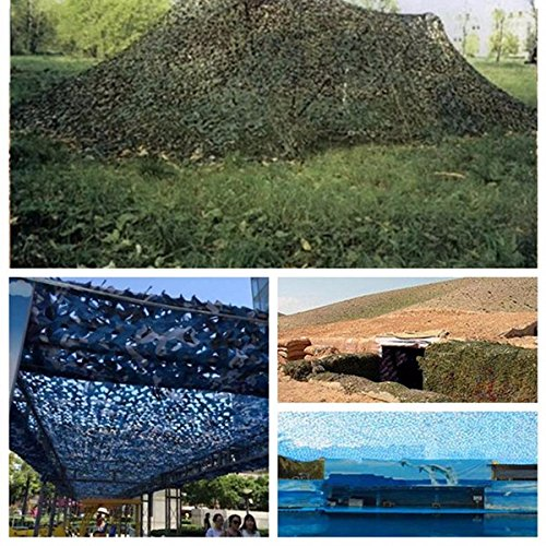 Profit Camouflage Net Exterior Accessories - 5mx2m Camouflage Net Car Cover Camping Military Hunting Shooting Hide - Income Sack Disguise Earnings Take-Home Meshwork Reticulation Profits - 1PCs