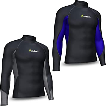 Mens Compression Base Layer Winter Thermal Armour Top Full Sleeve Sports Shirts