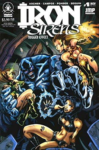 Iron Sirens: Trigger Effect #1 VF/NM ; Digital Webbing comic book