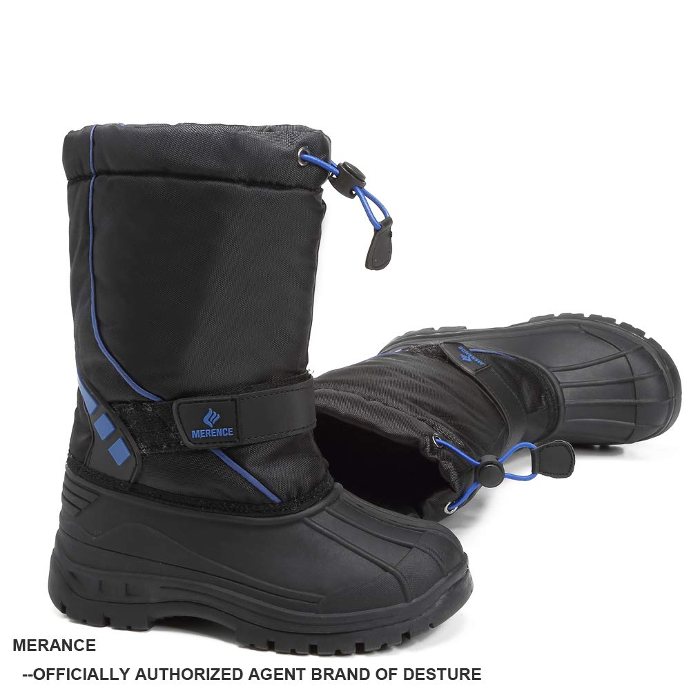 Toddler//Little Kid//Big Kid DESTURE Kids Snow Boots,/Boys Girls Winter Boots Waterproof Snow Shoes Cold Weather Outdoor Boots