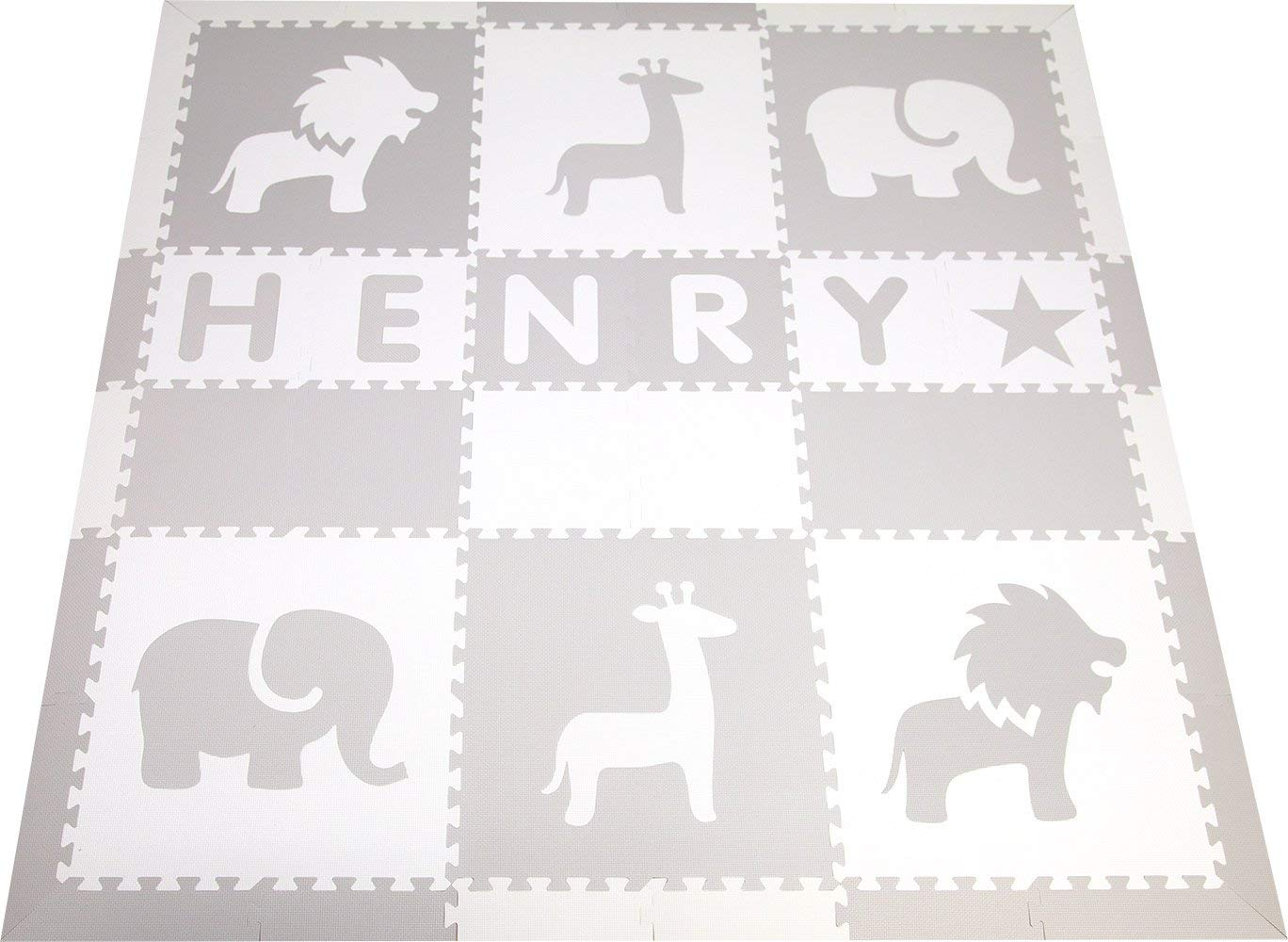 Amazon.: Personalized Foam Play Mat  Names up to 6 Letters