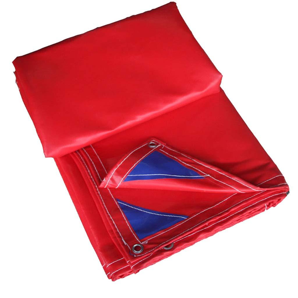 Wasserdichte Plane Plane Plane Wolaoma Plastikplane Freien (Farbe   rot, größe   2  3M) B07JNBFJ7H Zeltplanen Neuer Stil 20e776