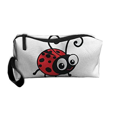 Hong Yi Fang Portable Toiletry Bag Storage Bags Marie Bug Drug Cosmetic Bag
