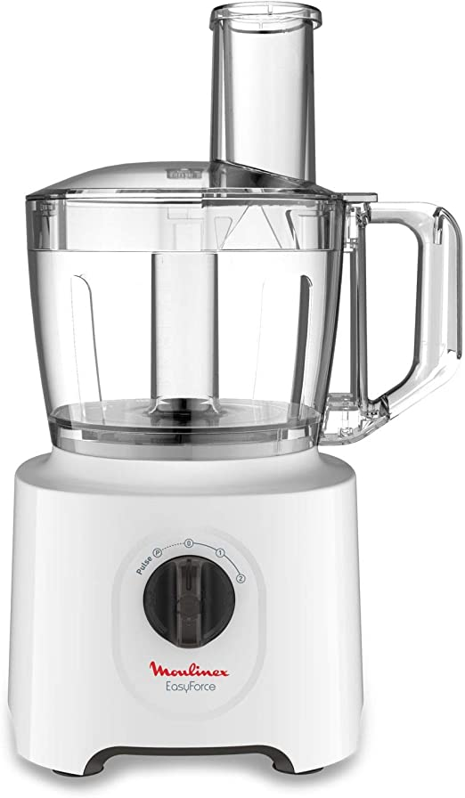 Moulinex Easy Force 700 W - Robot de cocina (1,4 L, Blanco, Giratorio, 700 W): Amazon.es: Hogar