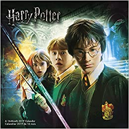 2019 harry potter bilingual fre wall calendar english and french edition