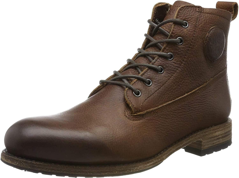 Blackstone Mid Lace Up Boot Fur, Botas para Hombre