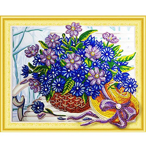 - Wall Decor,RNTOP DIY 5D Diamond Painting Butterfly Owl Flower Special Shaped Diamond Painting Partial Drill Cross Stitch Kits Crystal Rhinestone of Picture Serial Diamond Embroidery Arts Craft (B)