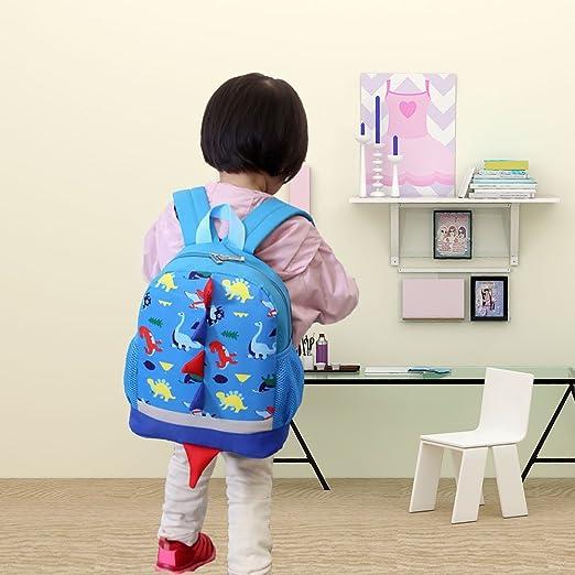 039df1771986 SUNVP Toddler School Bag Shoulder Bag Handbag Cartoon Dinosaur Kids Book  Bags Children Small Backpack Daysack for Girls Boys (Blue Dinosaur)   Amazon.ca  ...