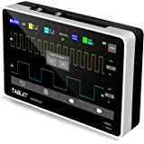 YEAPOOK ADS1013D Handheld Digital Tablet oscilloscope Portable Storage Oscilloscope Kit with 2 Channels, 100Mhz Bandwidth, 1G
