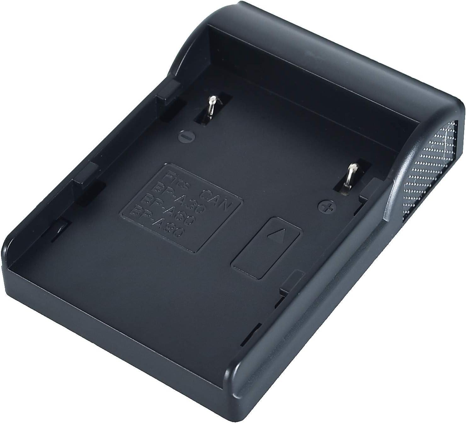 Canon EOS C200 LCD, 1,5 A, Conector Europeo Cargador de bater/ía Dual para Canon BP-A30 BP-A90 C220B BP-A60 XF705 4K UHD C300 Mark II PL Cinema DSTE C200B