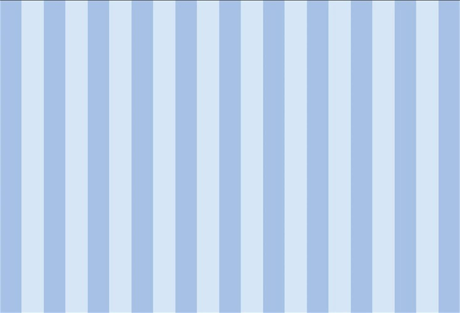 8x8FT Vinyl Wall Photography Backdrop,Ship,Shades of Blue and White Waves Background for Baby Birthday Party Wedding Studio Props Photography