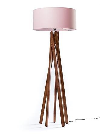 Cadena de Diseño pie TRIPOD con pantalla en color rosa y ...