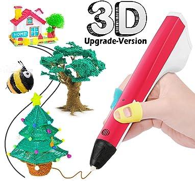 3d Pluma,3d Pluma Inteligente,Plumas para Impresi/ón 3D para Ni/ños y Adultos,Mejor Regalo de Cumplea/ños y Navidad
