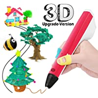 THZY 3D Stylo, Impression Stéréoscopic Printing 3D Dessin Doodle Pen pour Enfants Adultes Arts Artisanat Bricolage