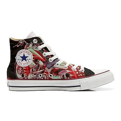 Converse All Star personalisierte Schuhe (Handwerk Produkt) Motorrad