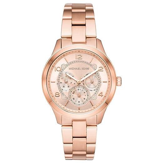 Michael Kors Reloj Analógico para Mujer de Cuarzo con Correa en Acero Inoxidable MK6589: Amazon.es: Relojes