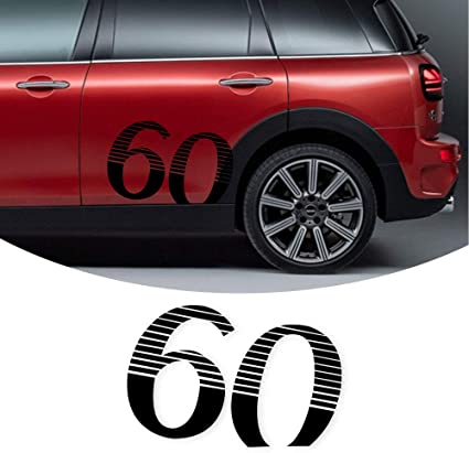 Car Window Trunk Reflective Stickers Red Car Styling For MINI Cooper 20*4.5 cm