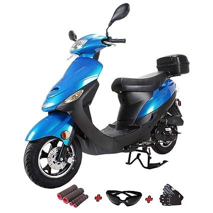 Amazon.com: X-Pro - Scooter de 50 cc con ciclomotor y ...
