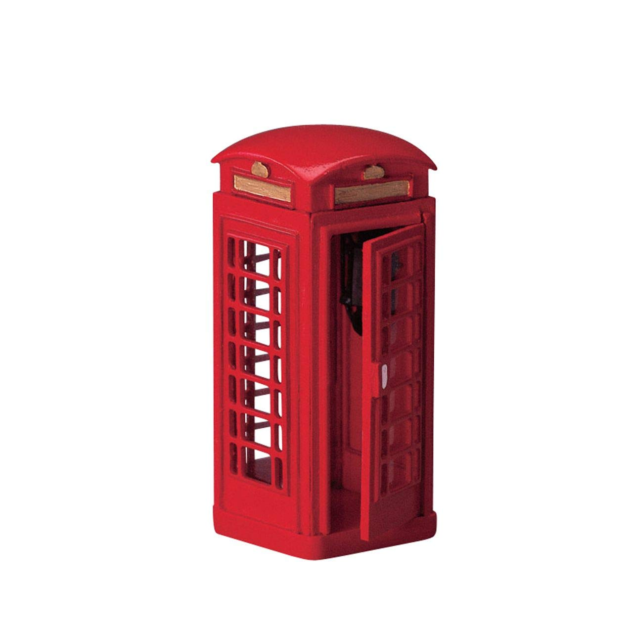 Lemax Village Collection Red Telephone Booth Accessory Figurine (44176)