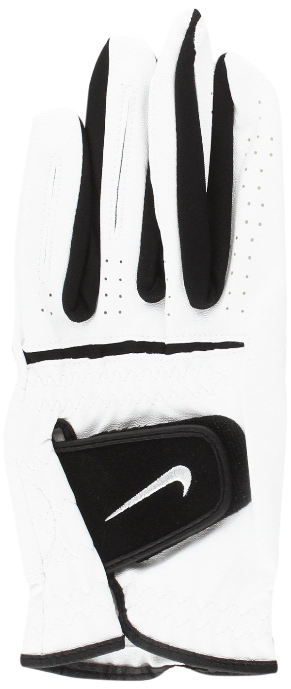 Nike Double with Written Bracelet Stand Up Speak Up, Size For Adults, White and Black Nike Soft Mens Gloves White/Black Large 155645634