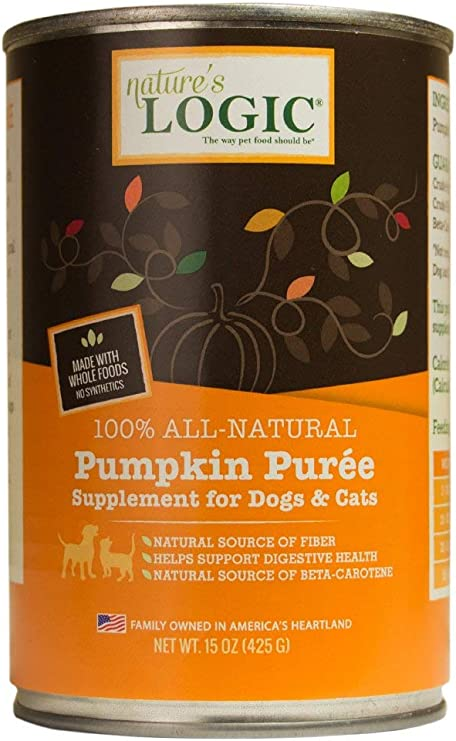 LOGIC Pumpkin Puree for Cats and Dogs