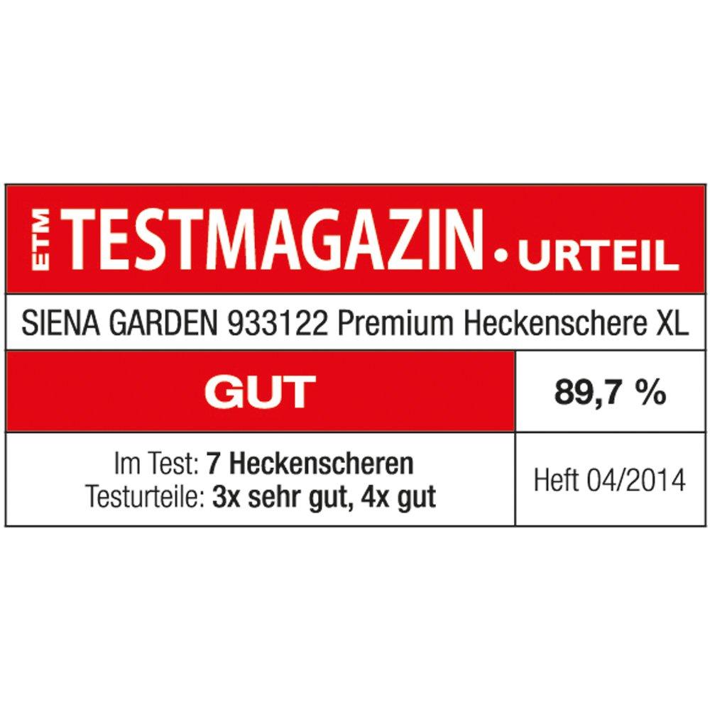 Siena Garden Premium Heckenschere XL Profi Aluminium 75cm 933122