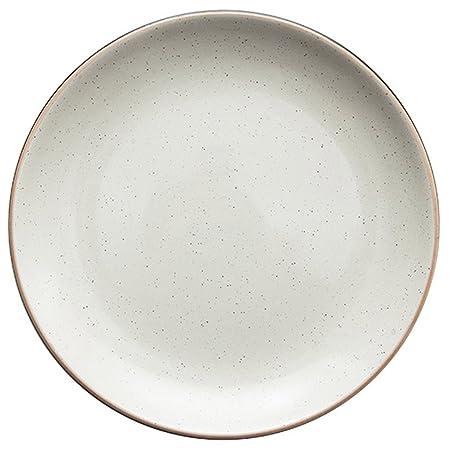 Eoco Platos-Plato vibrante de porcelana blanca Vajilla ...