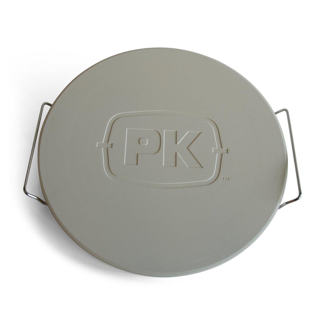 PK Grills PK99070 Round Ceramic Pizza Stone by PK Grills