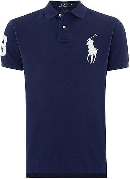 Ralph Lauren Polo Pour Homme Big Pony Coupe Ajustée Bleu Large Amazon Fr Vêtements Et Accessoires