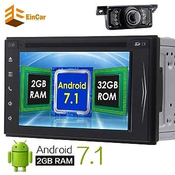 Eincar Android 7.1 turrón Octa Core 2 RAM HD 1080P Android 6.0 estéreo del coche DVD