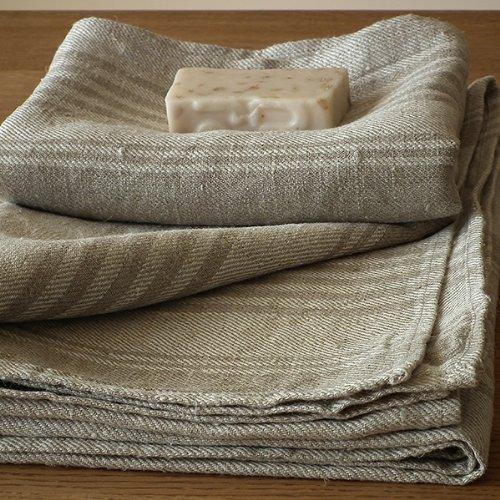 LinenMe 0006502 Linen Bath Towel, 28