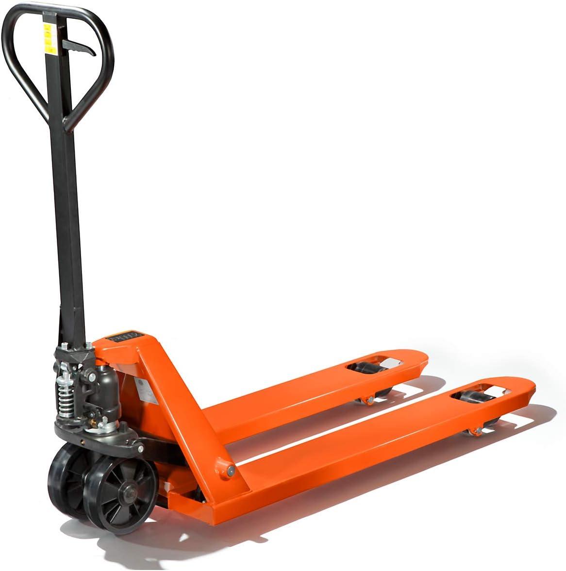 roue directrice /à bandage polyur/éthane galets simples en polyur/éthane Transpalette Chariot manutention Transpalette indutriel Transpalette force 2000 kg