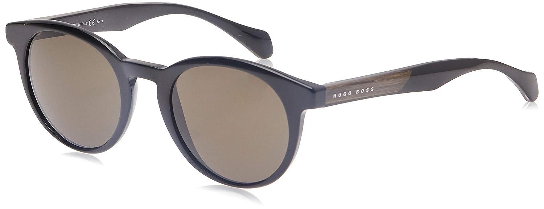Hugo Boss Boss 0912/S NR 1YS Gafas de sol, Negro (Black Cryblck/Brw Grey), 50 Unisex-Adulto